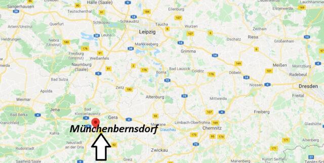 Wo liegt Münchenbernsdorf - Wo ist Münchenbernsdorf (Postleitzahl 07589)