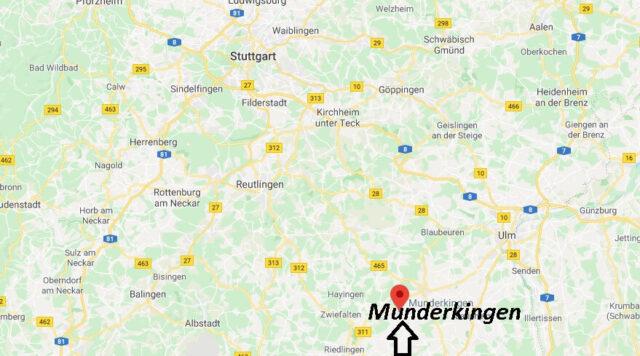 Wo liegt Munderkingen - Wo ist Munderkingen (Postleitzahl 89597)