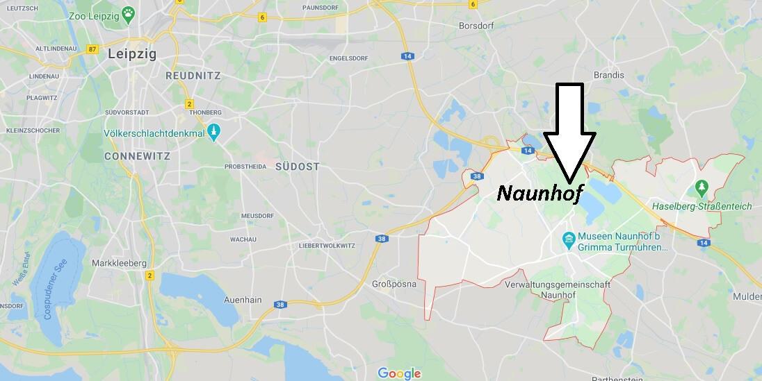Wo liegt Naunhof - Wo ist Naunhof (Postleitzahl 04683)