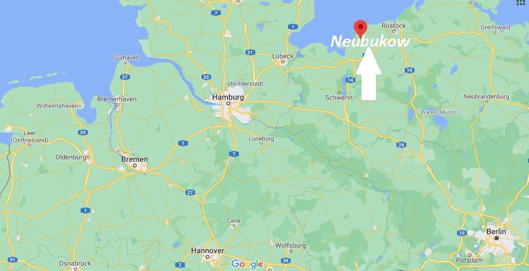 Wo liegt Neubukow - Wo ist Neubukow (Postleitzahl 18233)