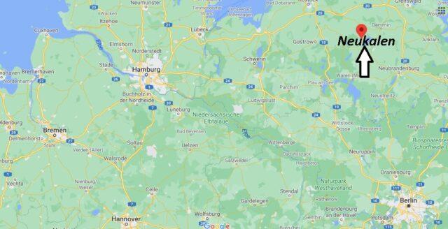 Wo liegt Neukalen - Wo ist Neukalen (Postleitzahl 17154)