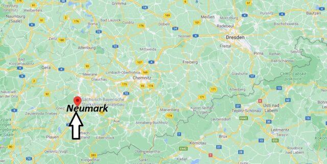Wo liegt Neumark - Wo ist Neumark (Postleitzahl 08496)