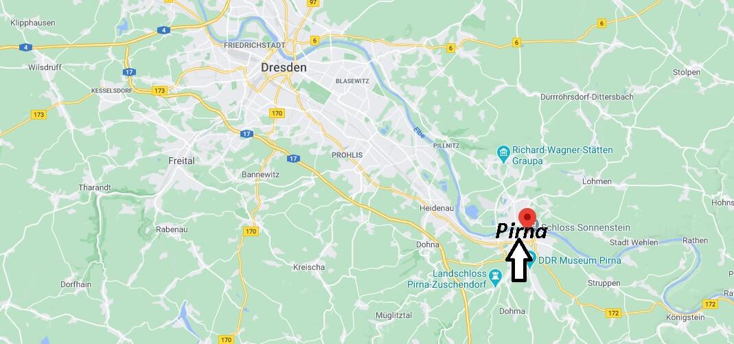 In welchem Bundesland liegt Pirna