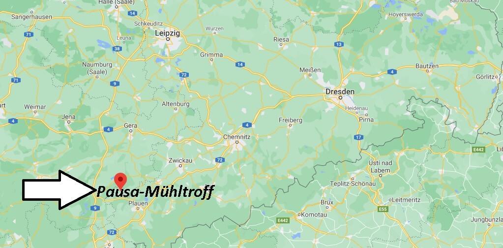 Stadt Pausa-Mühltroff