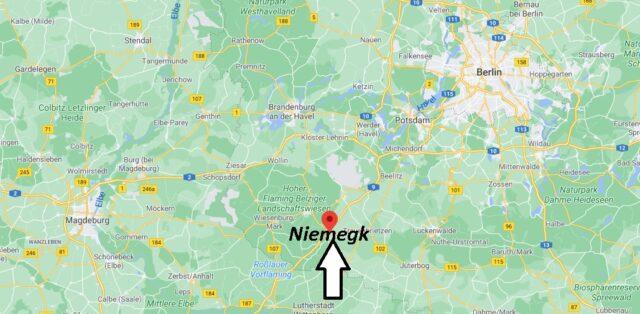 Wo liegt Niemegk -Wo ist Niemegk (Postleitzahl 14823)