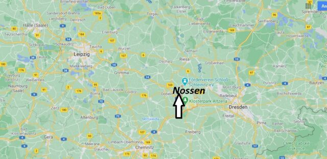 Wo liegt Nossen - Wo ist Nossen (Postleitzahl 01683)