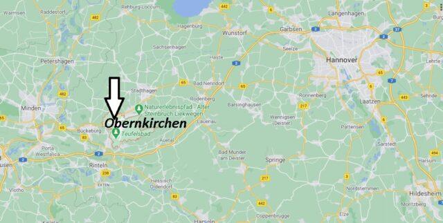 Wo liegt Obernkirchen-Wo ist Obernkirchen (Postleitzahl 31683)