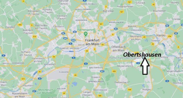 Wo liegt Obertshausen - Wo ist Obertshausen (Postleitzahl 63179)