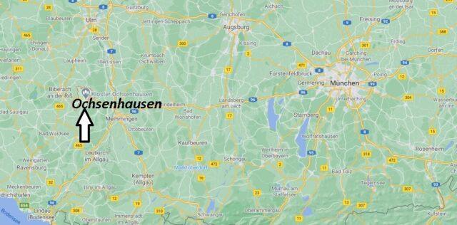 Wo liegt Ochsenhausen - Wo ist Ochsenhausen (Postleitzahl 88416)