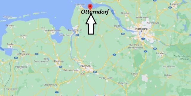 Wo liegt Otterndorf - Wo ist Otterndorf (Postleitzahl 21762)
