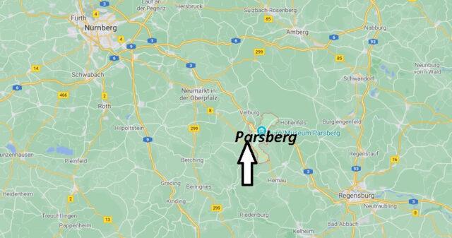 Wo liegt Parsberg -Wo ist Parsberg (Postleitzahl 92331)