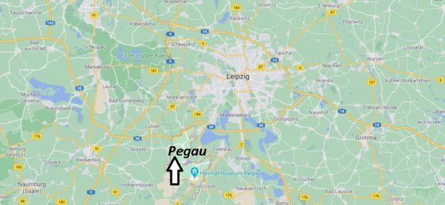 Wo liegt Pegau -Wo ist Pegau (Postleitzahl 04523)