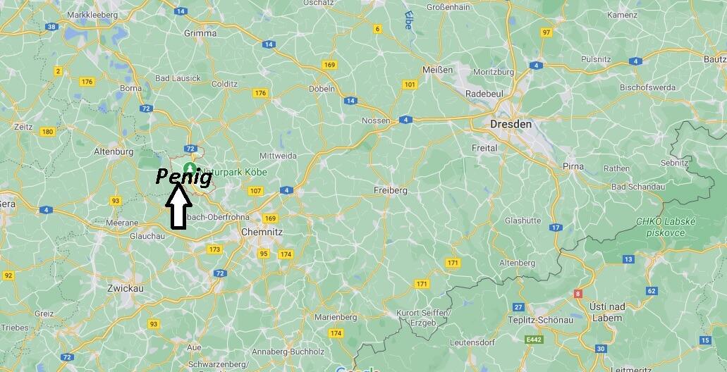 Wo liegt Penig-Wo ist Penig (Postleitzahl 09322)