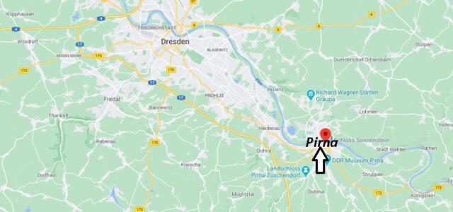 Wo liegt Pirna-Wo ist Pirna (Postleitzahl 01796)
