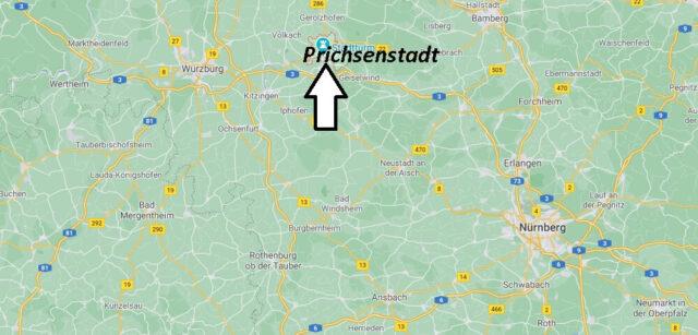 Wo liegt Prichsenstadt-Wo ist Prichsenstadt (Postleitzahl 97357)