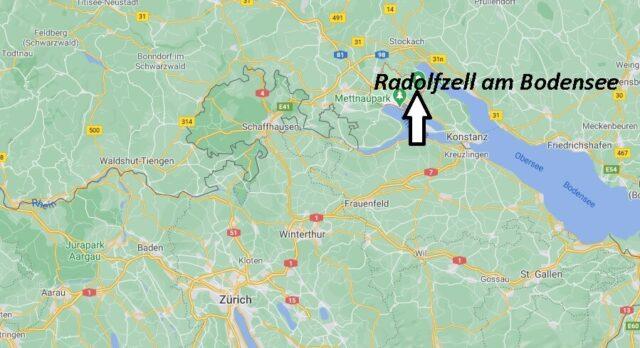 Wo liegt Radolfzell am Bodensee- Wo ist Radolfzell am Bodensee (Postleitzahl 78315)
