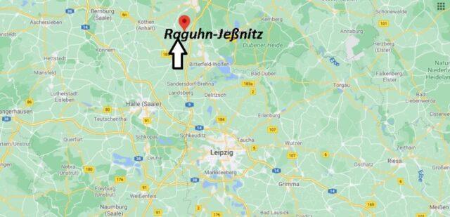 Wo liegt Raguhn-Jeßnitz - Wo ist Raguhn-Jeßnitz (Postleitzahl 06779)