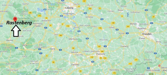Wo liegt Rastenberg -Wo ist Rastenberg (Postleitzahl 99636)