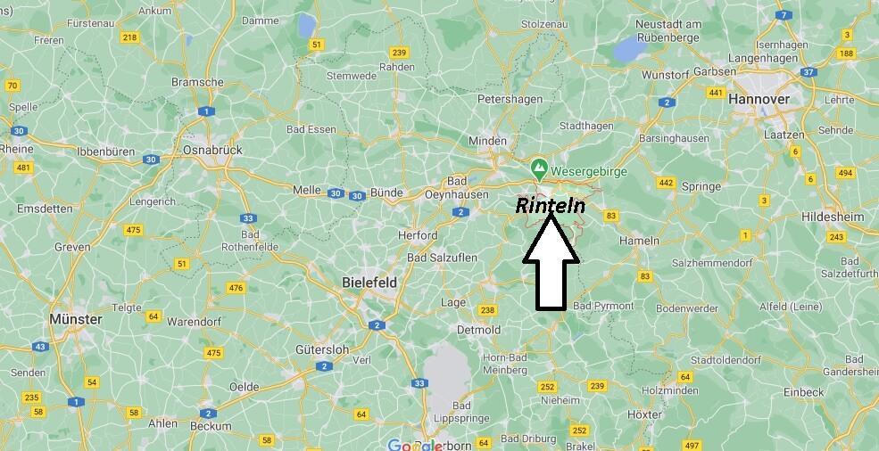 In welchem Bundesland liegt Rinteln