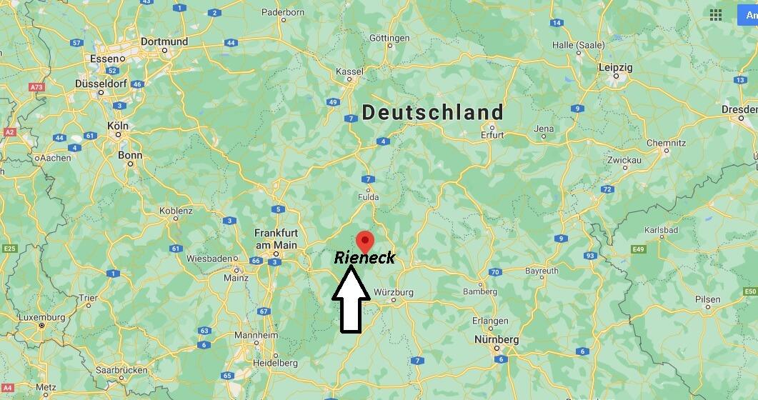 Wo ist Rieneck (Postleitzahl 97794)
