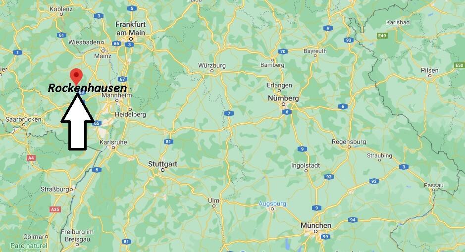Wo ist Rockenhausen (Postleitzahl 67806)
