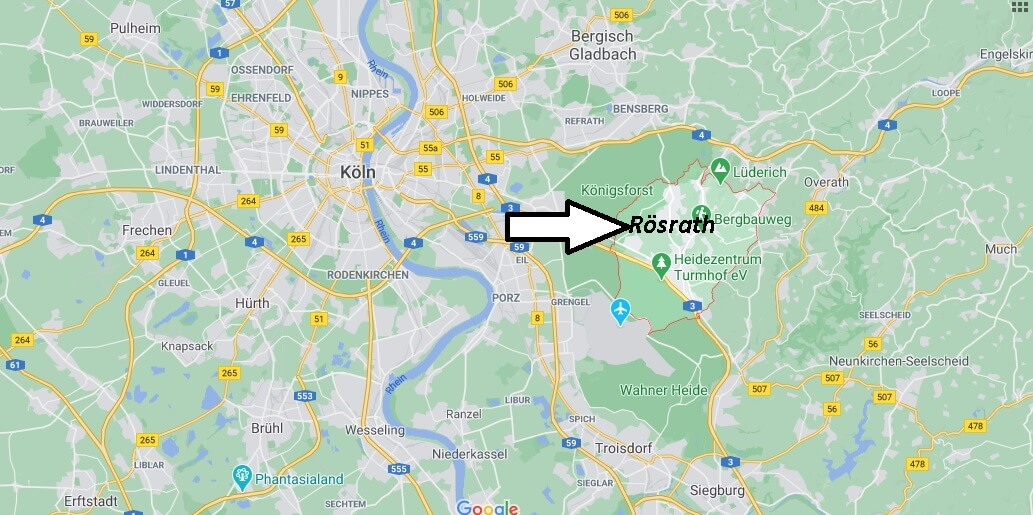Wo liegt Rösrath