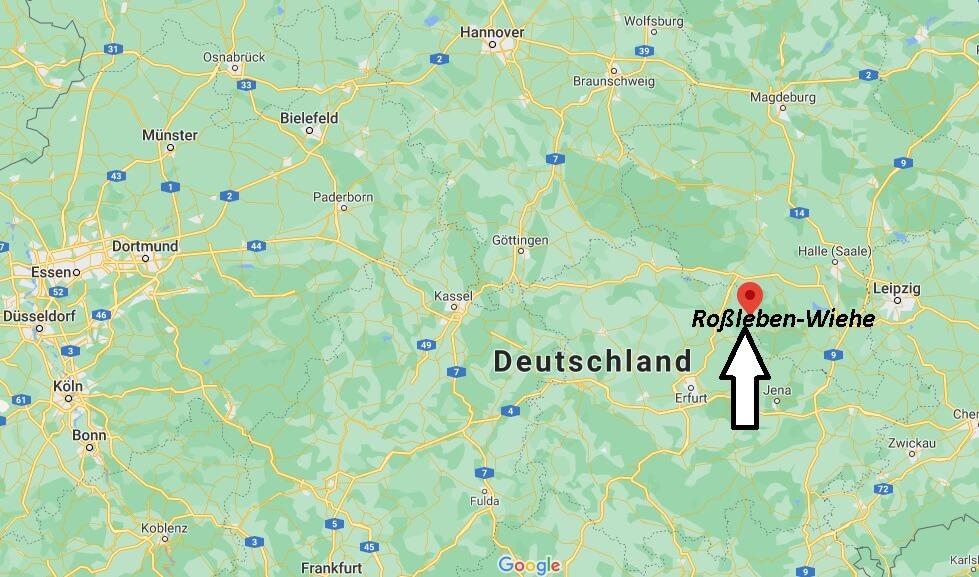 Wo ist Roßleben-Wiehe (Postleitzahl 06571)