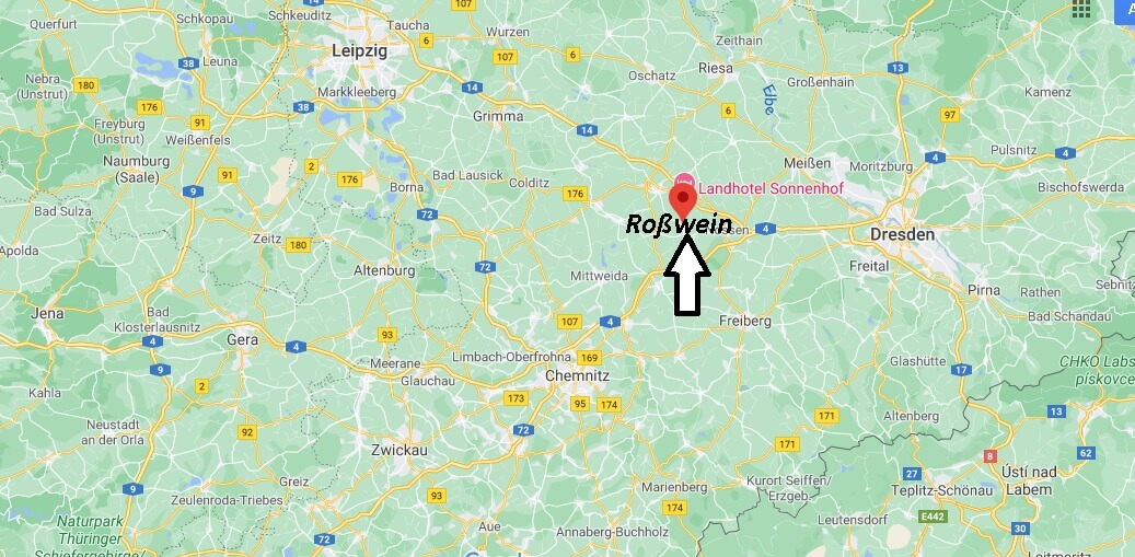 Wo ist Roßwein (Postleitzahl 04741)
