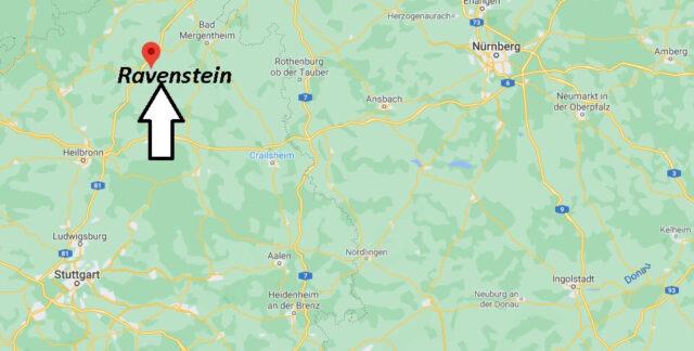 Wo liegt Ravenstein - Wo ist Ravenstein (Postleitzahl 74747)