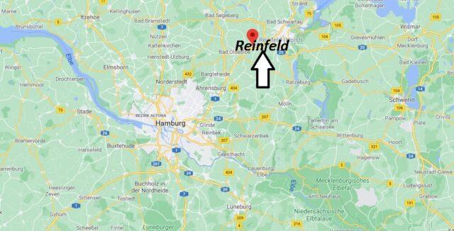 Wo liegt Reinfeld - Wo ist Reinfeld (Postleitzahl 23858)