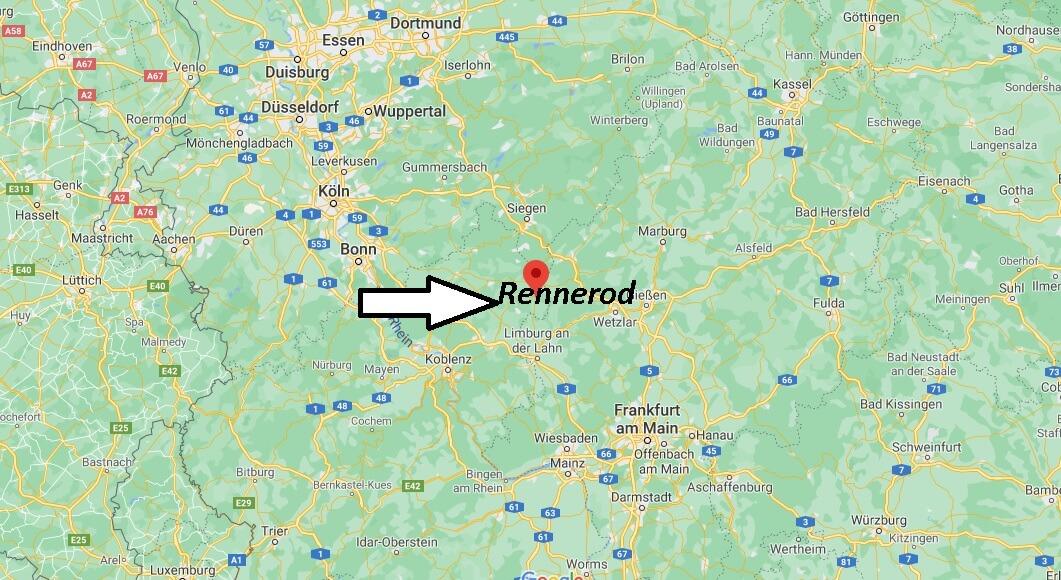 Wo liegt Rennerod - Wo ist Rennerod (Postleitzahl 56477)