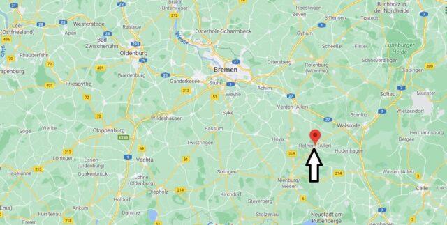 Wo liegt Rethem - Wo ist Rethem (Postleitzahl 27336)