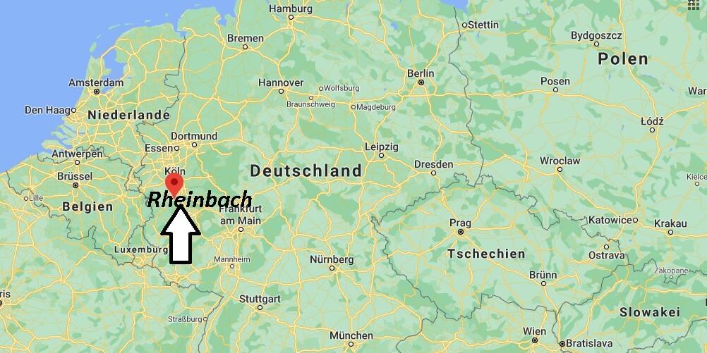 Wo liegt Rheinbach - Wo ist Rheinbach (Postleitzahl 53359)