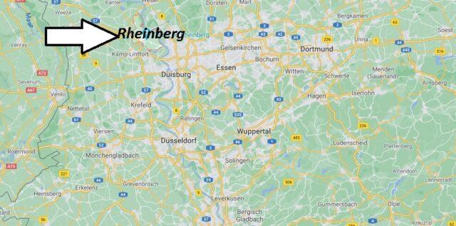 Wo liegt Rheinberg - Wo ist Rheinberg (Postleitzahl 47495)