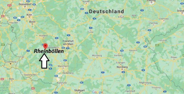 Wo liegt Rheinböllen - Wo ist Rheinböllen (Postleitzahl 55494)