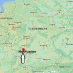 Wo liegt Rheinstetten – Wo ist Rheinstetten (Postleitzahl 76287)