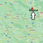 Wo liegt Rhinow – Wo ist Rhinow (Postleitzahl 14728)