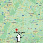 Wo liegt Riedlingen – Wo ist Riedlingen (Postleitzahl 88499)