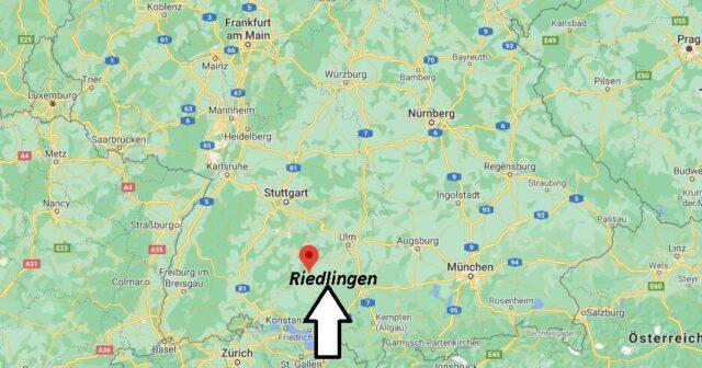 Wo liegt Riedlingen - Wo ist Riedlingen (Postleitzahl 88499)