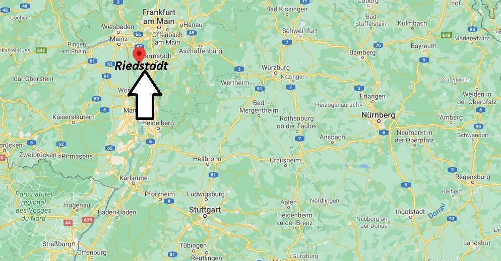 Wo liegt Riedstadt - Wo ist Riedstadt (Postleitzahl 64560)