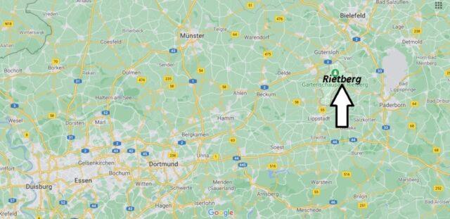 Wo liegt Rietberg