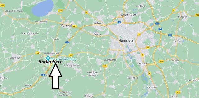Wo liegt Rodenberg