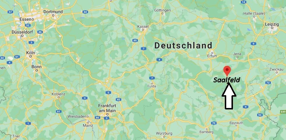In welchem Bundesland liegt Saalfeld