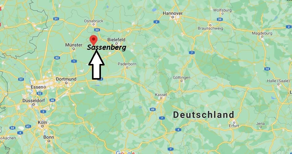 In welchem Bundesland liegt Sassenberg