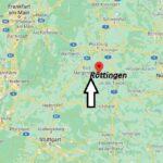Wo ist Röttingen (Postleitzahl 97285) – Kopya