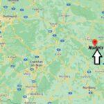 Wo ist Rudolstadt (Postleitzahl 07407)