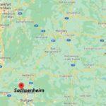 Wo ist Sachsenheim (Postleitzahl 74343)