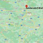 Wo ist Sandersdorf-Brehna (Postleitzahl 06792)