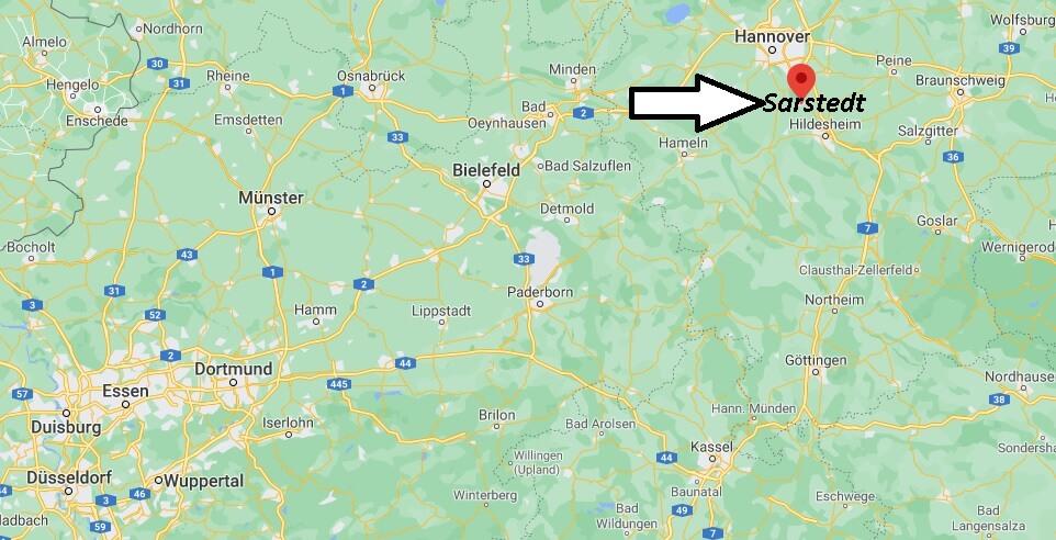 In welchem Bundesland liegt Sarstedt