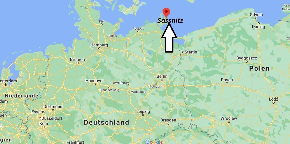 Wo ist Sassnitz (Postleitzahl 18546)